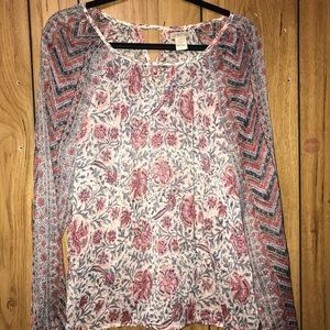 Lucky Brand Blouse Size L